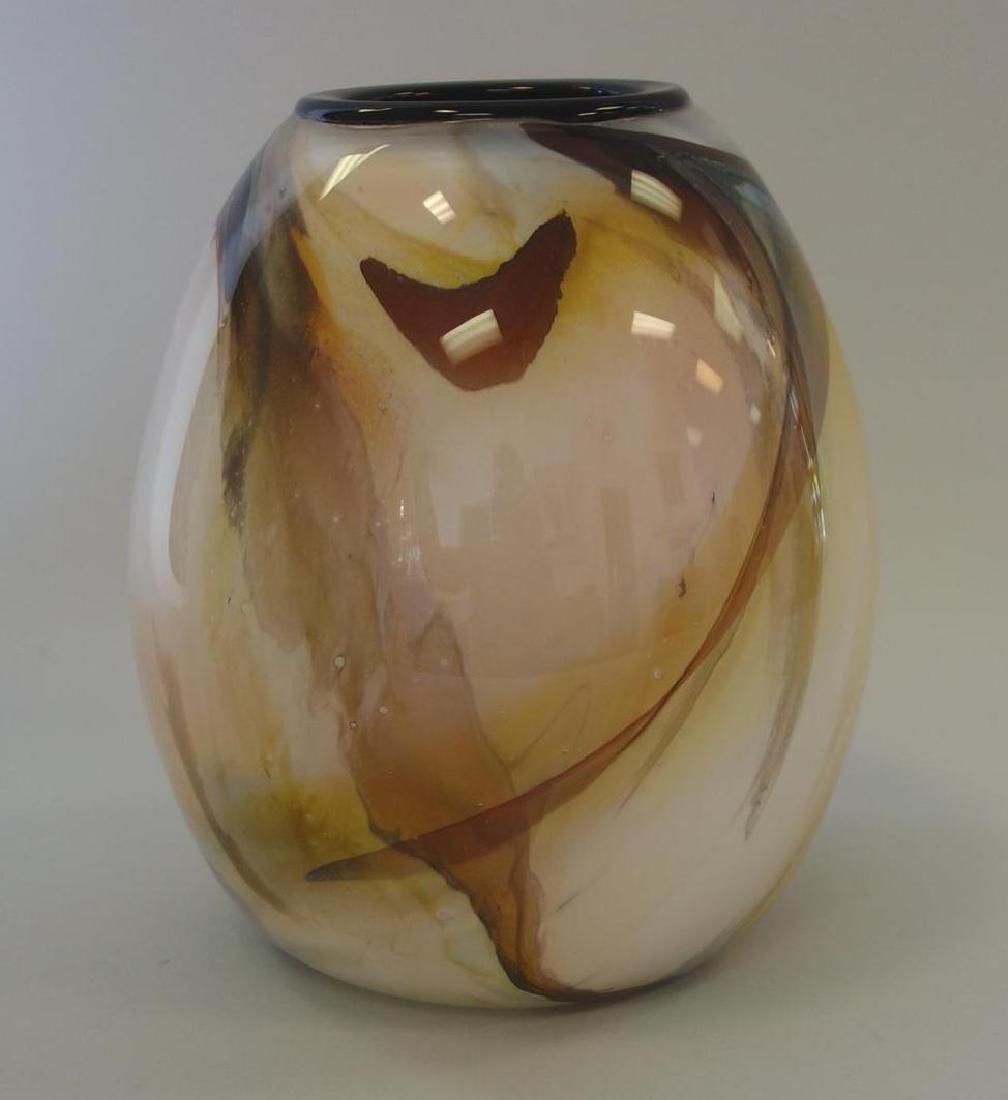 James Matthew Curtis, Studio Glass Vase