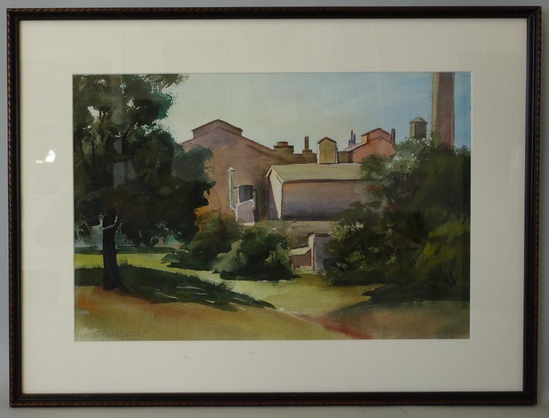 Eugene Dyczkowski (1899-1987) Industrial Scene - 2