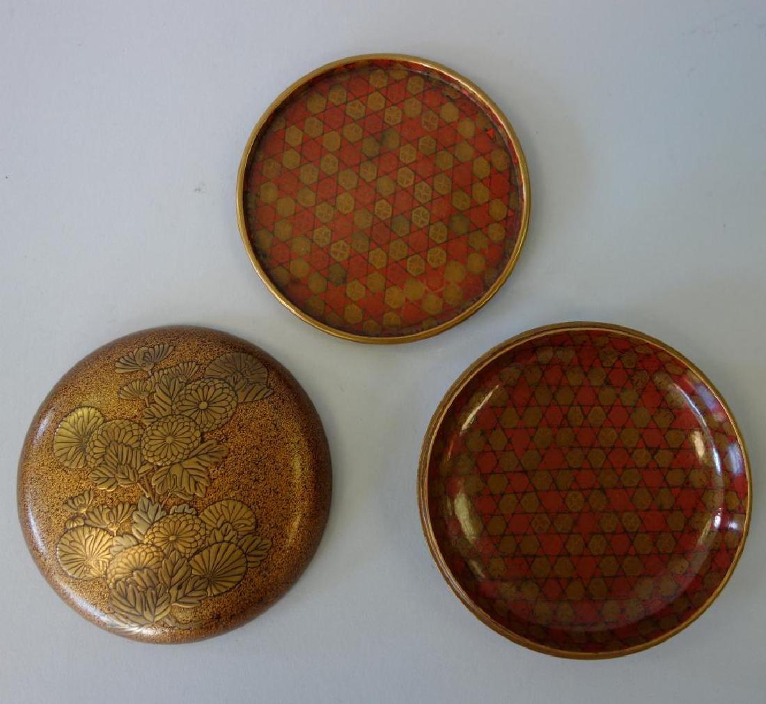 Japanese Lacquered Kogo Incense Box, Zohiko Seal - 2