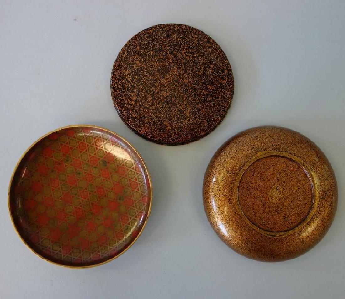 Japanese Lacquered Kogo Incense Box, Zohiko Seal - 3