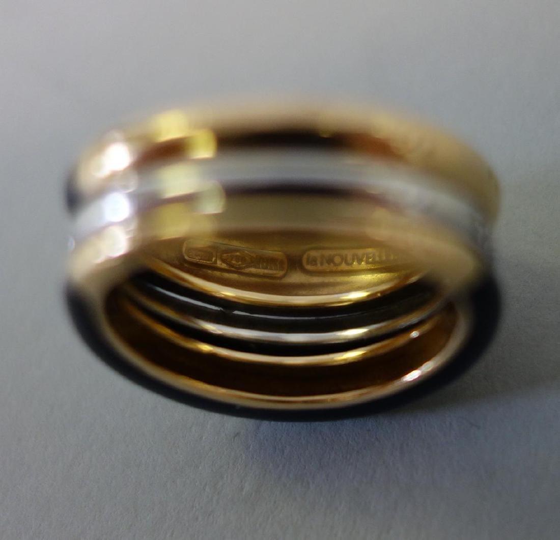 La Nouvelle Bague, 18K Gold, Diamond & Enamel Ring - 6