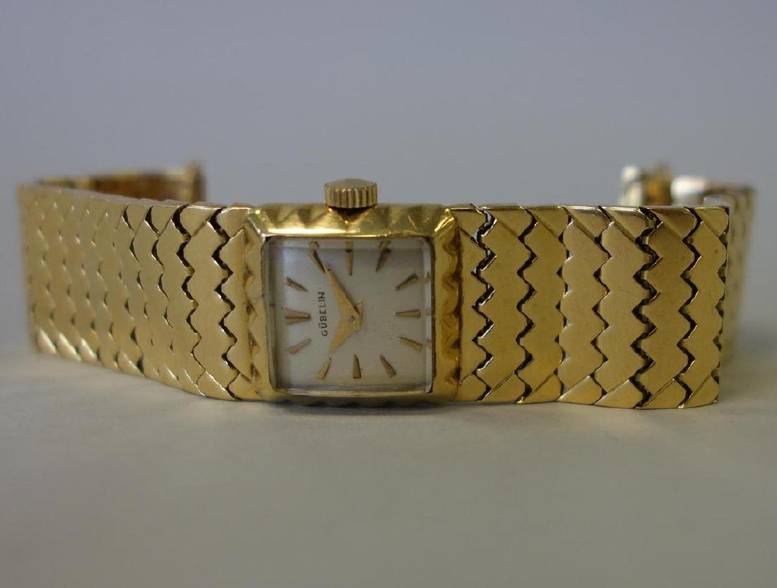 Gubelin 18K Gold Ladies Watch & Bracelet Band - 2