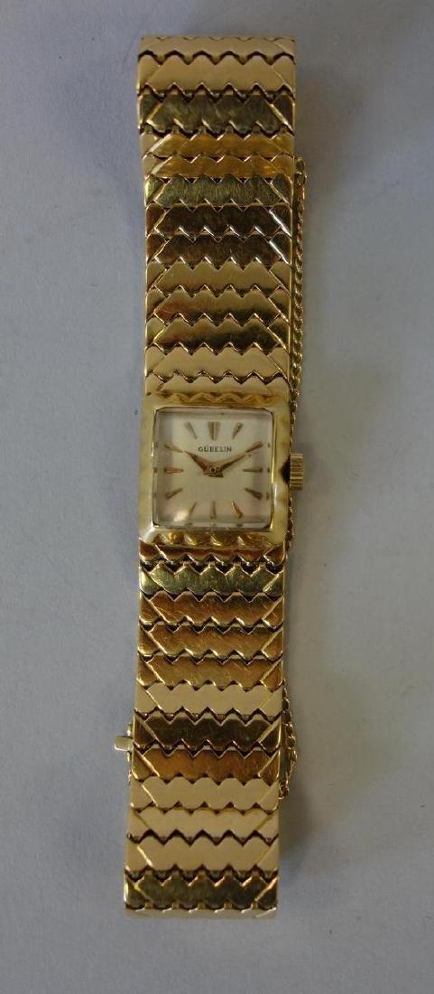 Gubelin 18K Gold Ladies Watch & Bracelet Band - 3