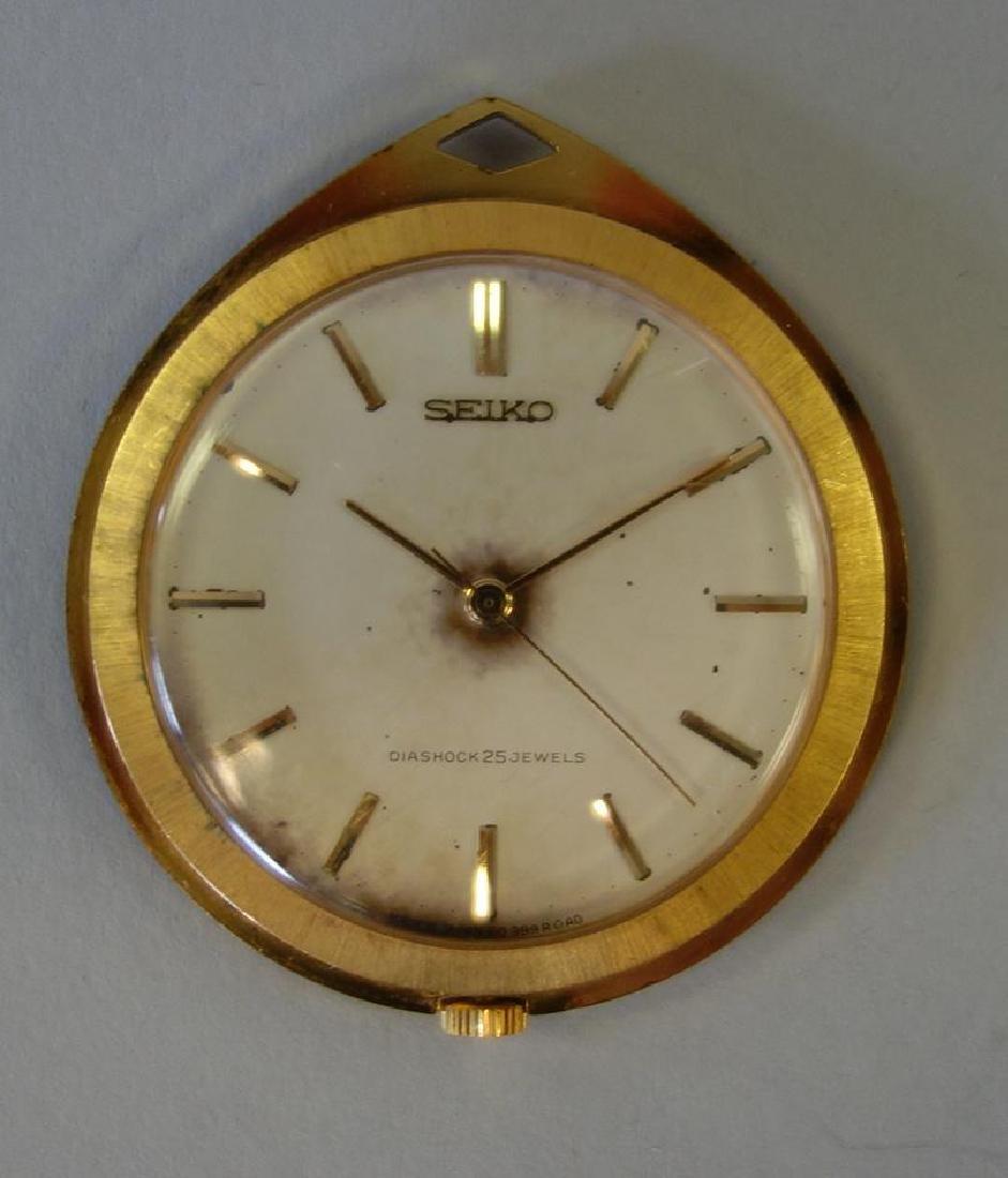 Seiko Diashock Pocket Watch, 25 Jewels