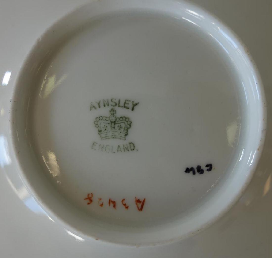 Aynsley Porcelain Sterling Demitasse, Set of 6 - 3