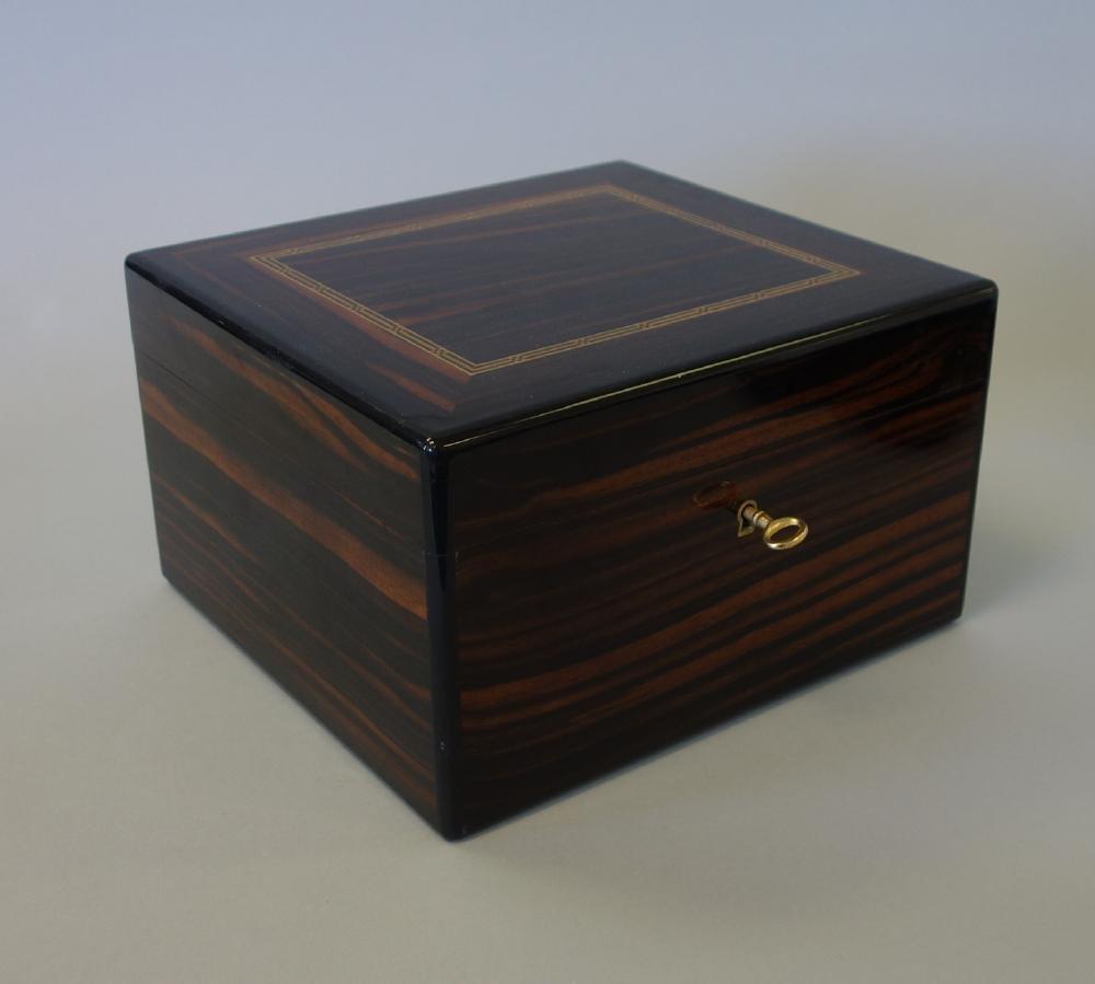 Dunhill Rosewood Cigar Humidor Box - 2