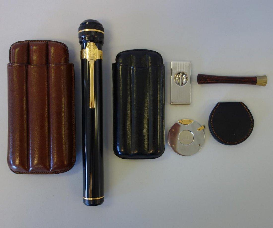 Cigar Accessories, Dunhill, Cigar Savor, Etc.