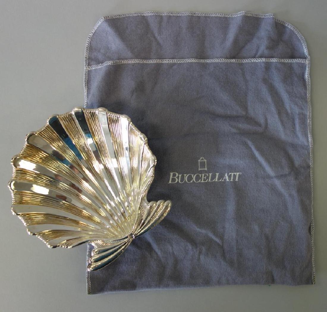 Buccellati Italian Sterling Scalloped Shell Dish - 3