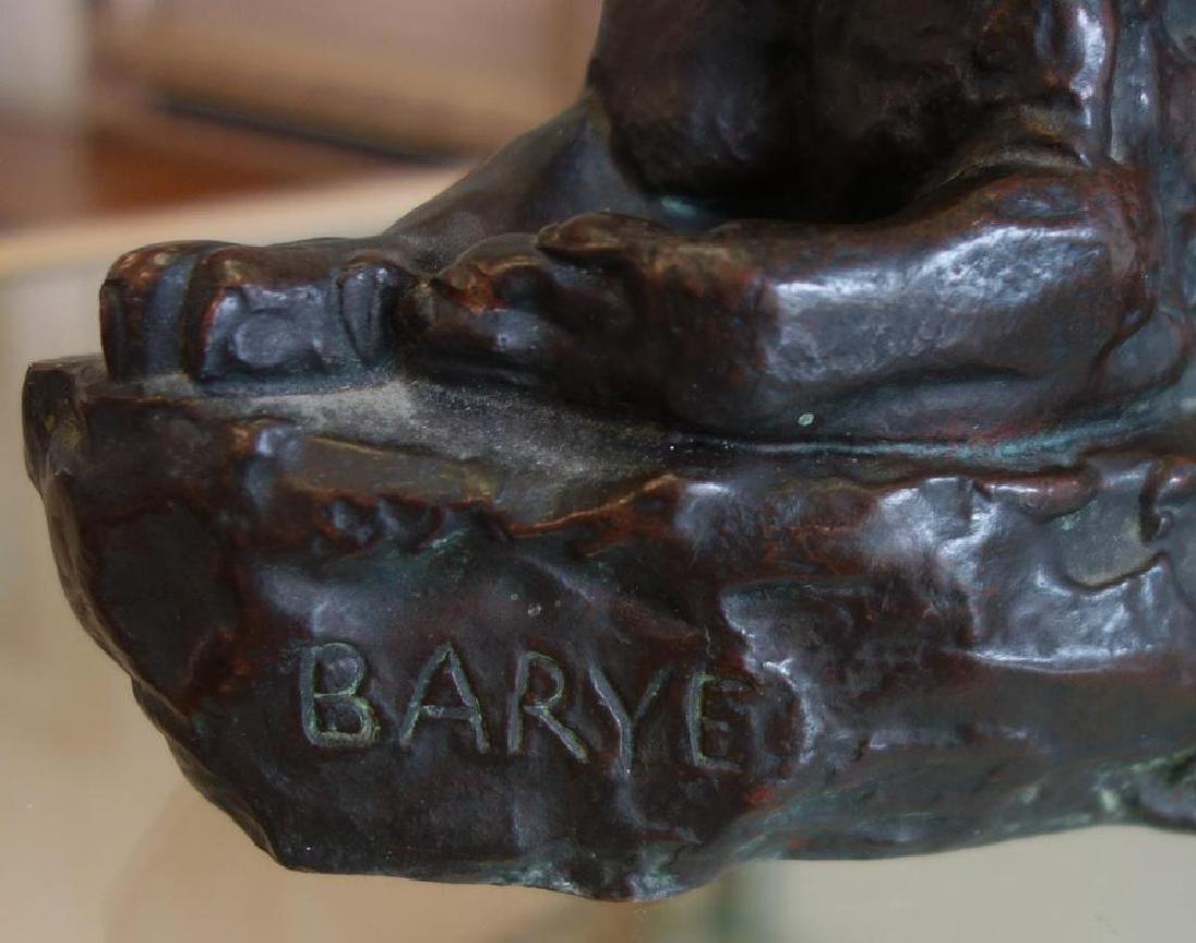 Barye Bronze, Cast by Henry-Bonnard, NY 1890 - 4
