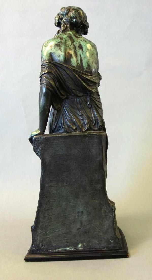 Emile Carlier (1849-1927) Bronze, La Cruche Cassee - 4