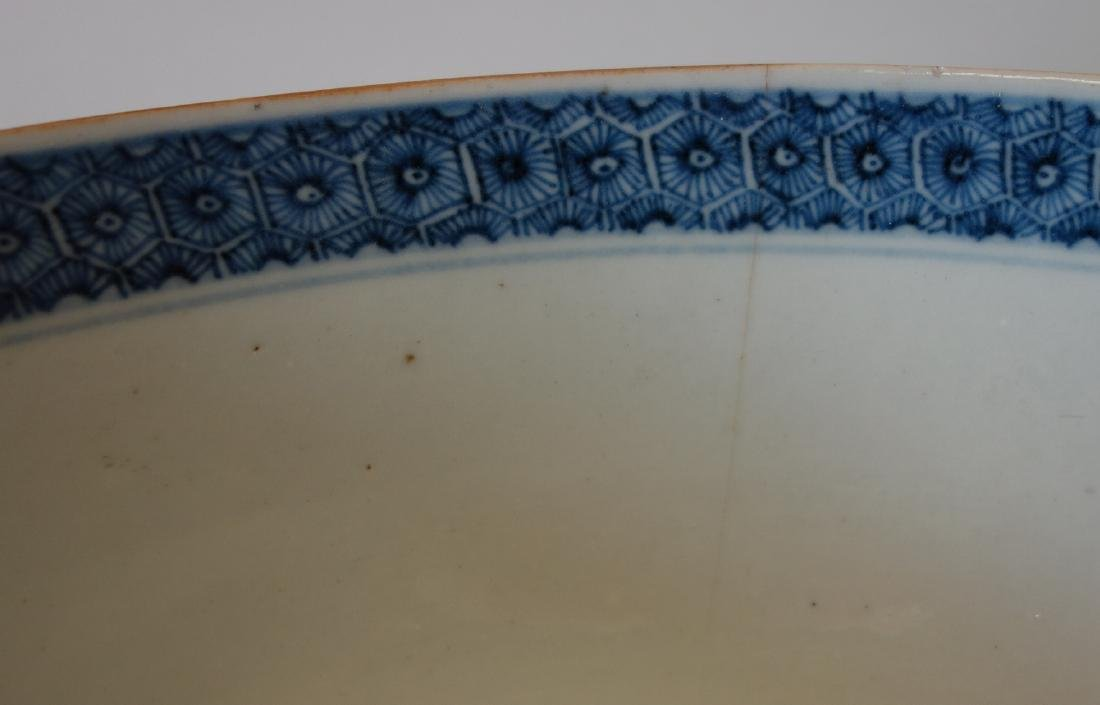 18thc Chinese Famille Rose Porcelain Punch Bowl - 6