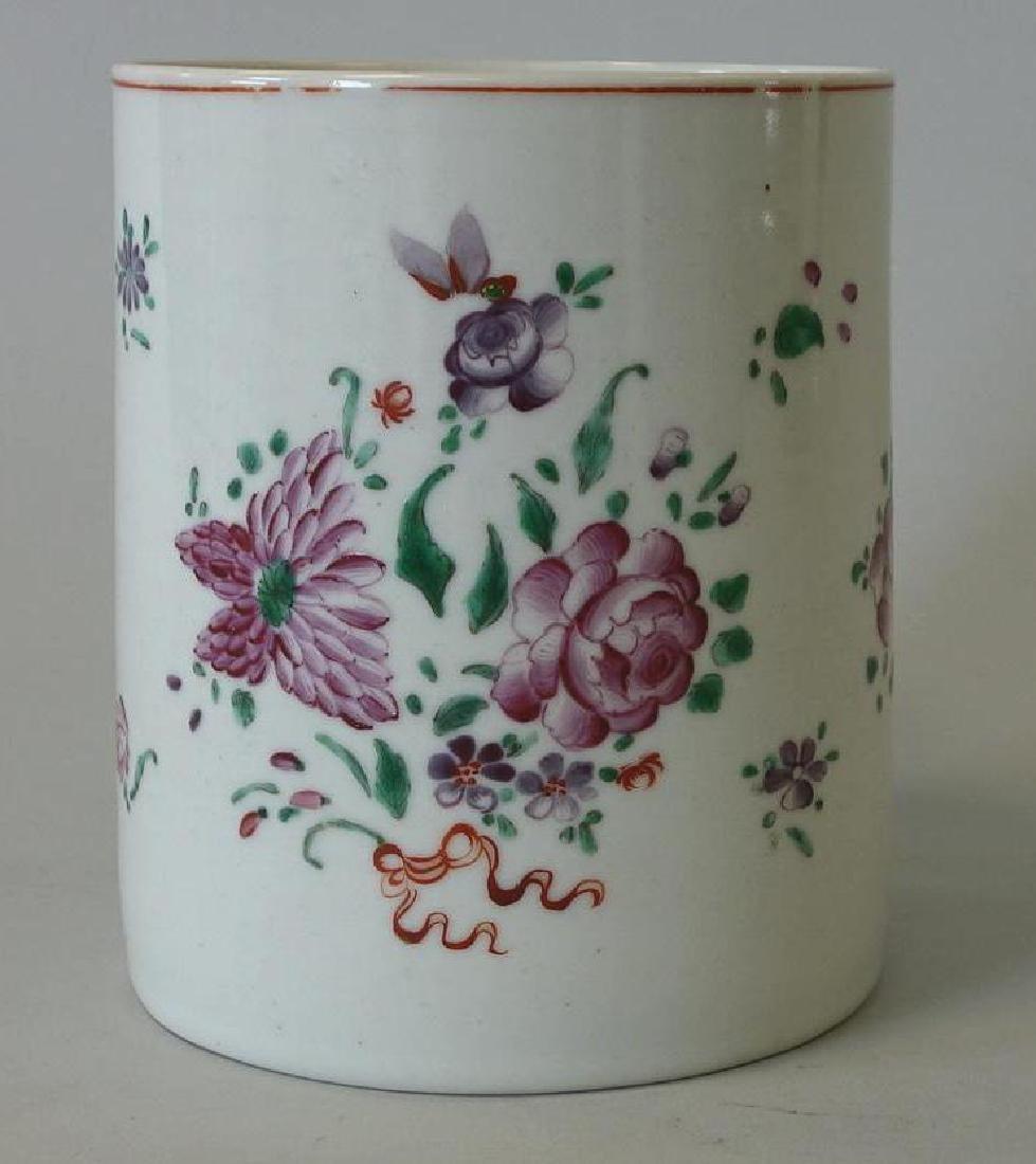 18thc Chinese Export Porcelain Mug, Dragon Handle - 3