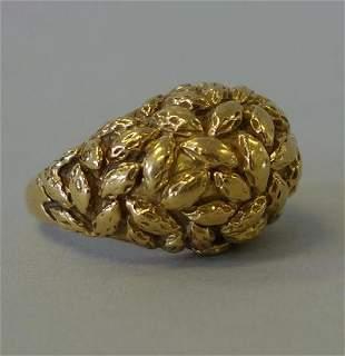 Van Cleef & Arpels 18K Gold Ring