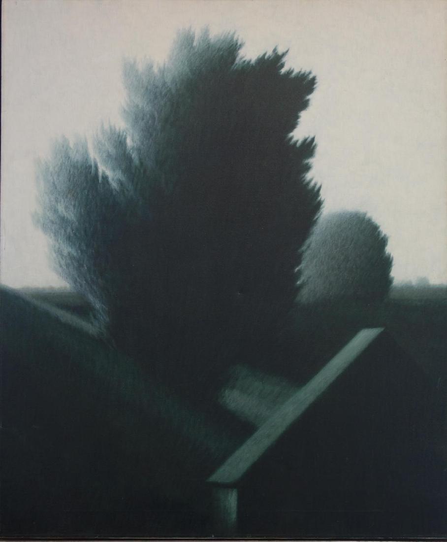 Robert Kipniss (b-1931) Country Landscape