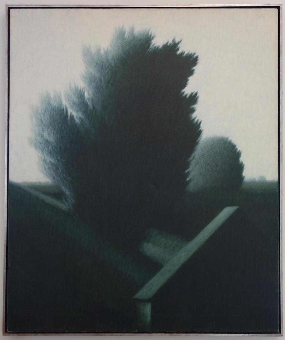 Robert Kipniss (b-1931) Country Landscape - 2
