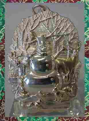 Buccellati Sterling Christmas Ornament, No 29