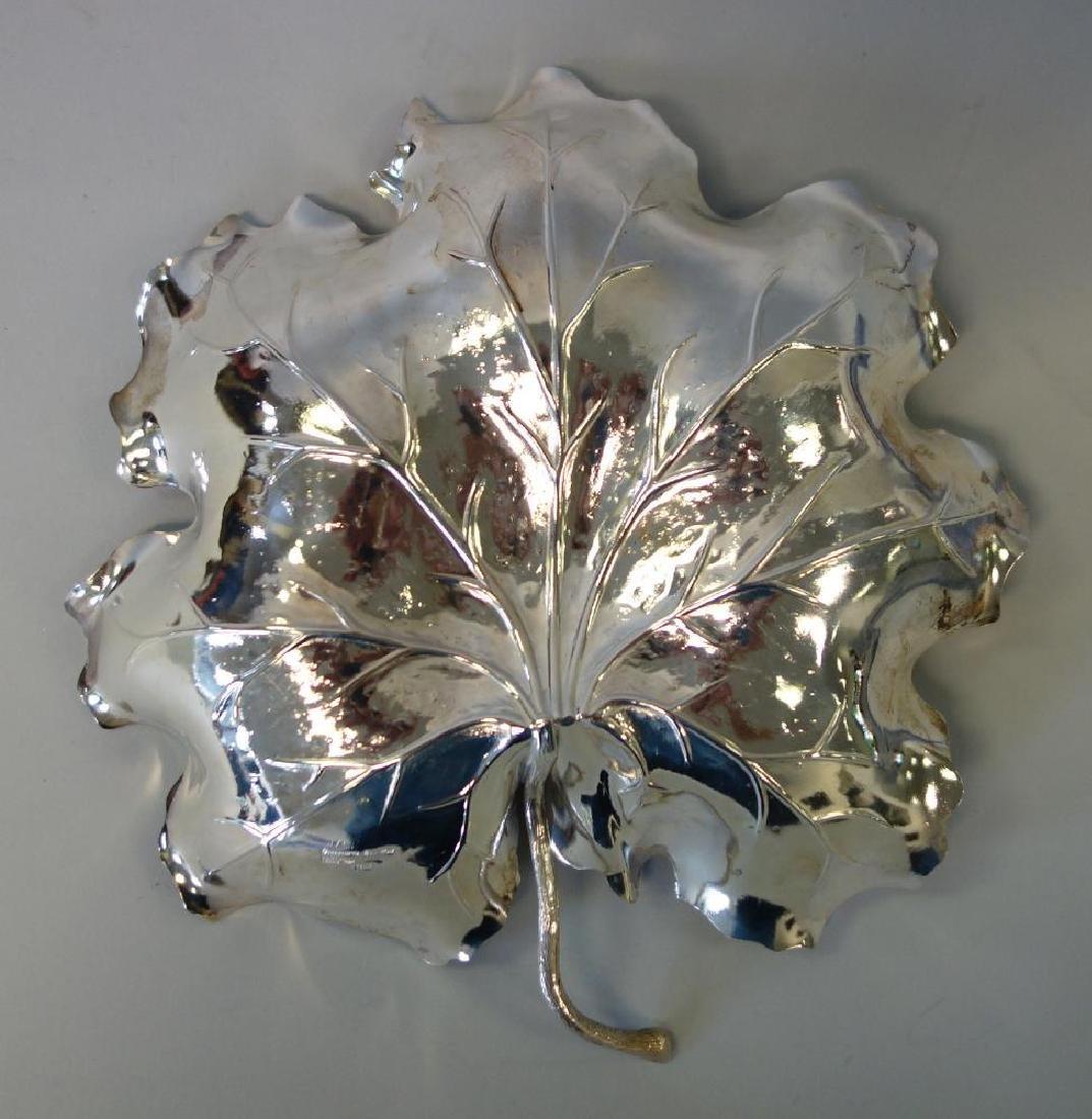 Gianmaria Buccellati Sterling Leaf Formed Dish - 2