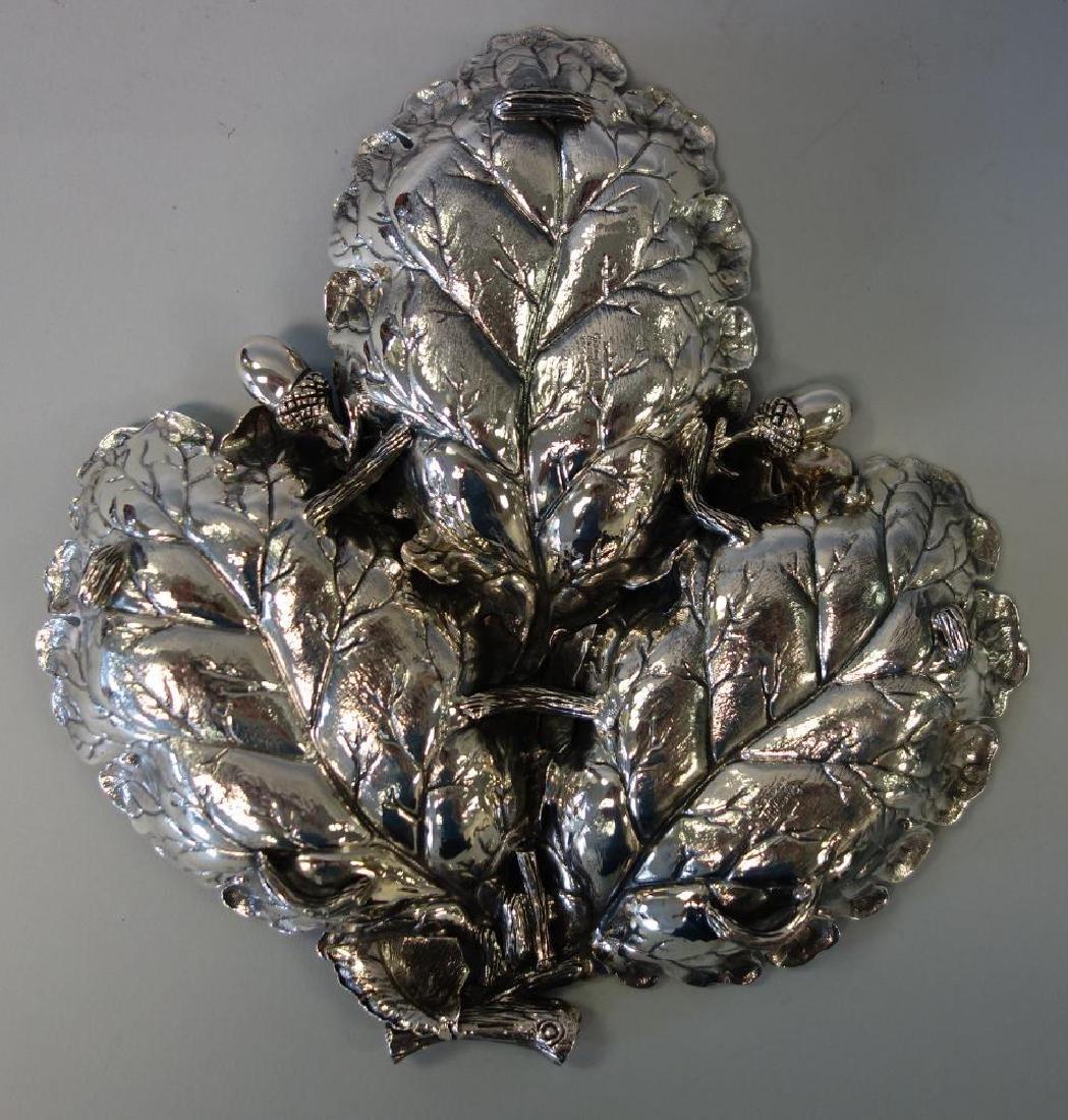 Gianmaria Buccellati Sterling Acorn Leaf Dish - 2