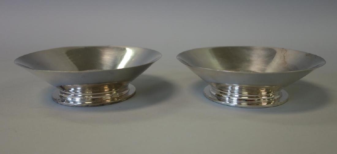 Jean Puiforcat 950 Silver Nut Dishes, Pair - 2