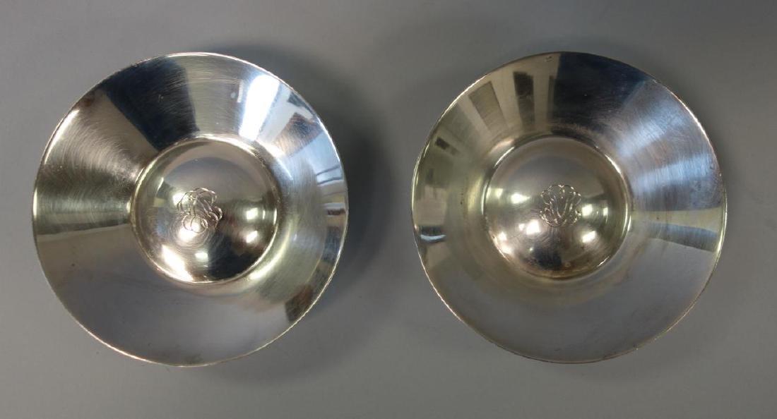 Jean Puiforcat 950 Silver Nut Dishes, Pair - 3