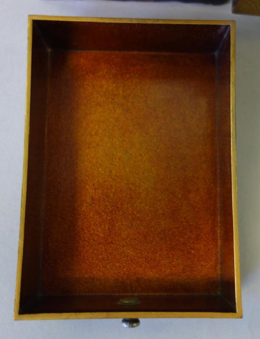 Fine Japanese Lacquer Miniature Cabinet, Meiji - 10