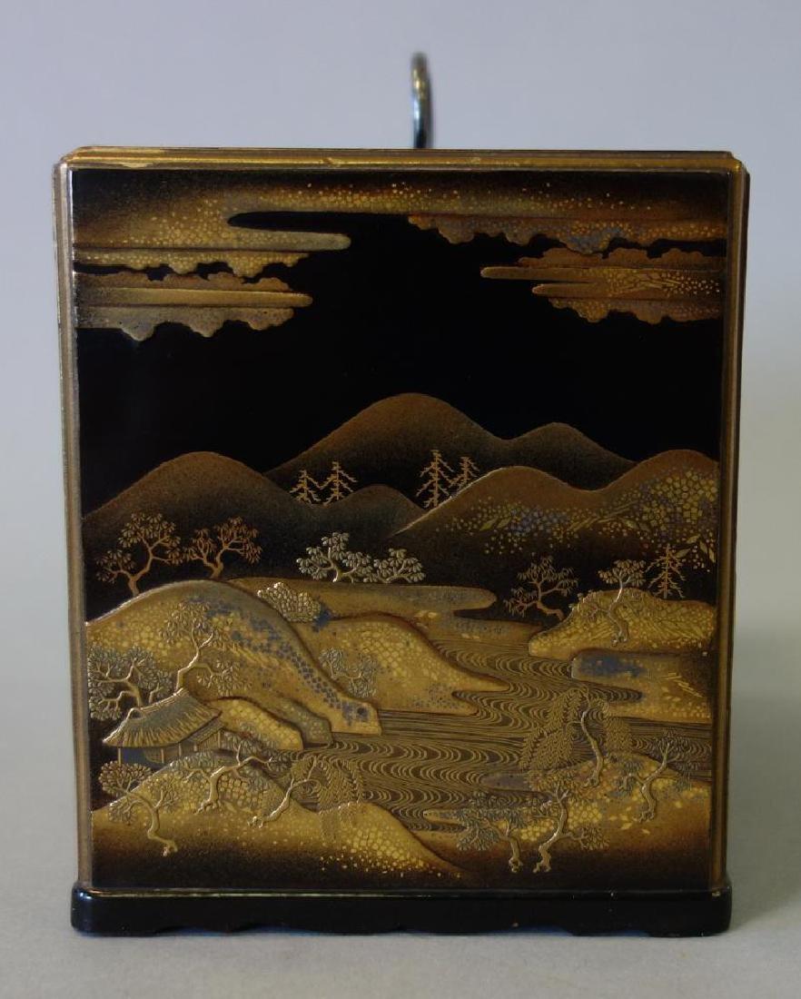 Fine Japanese Lacquer Miniature Cabinet, Meiji - 4