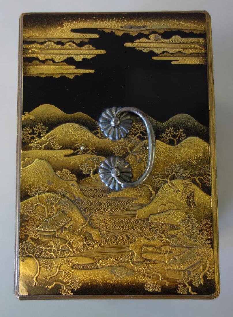 Fine Japanese Lacquer Miniature Cabinet, Meiji - 6