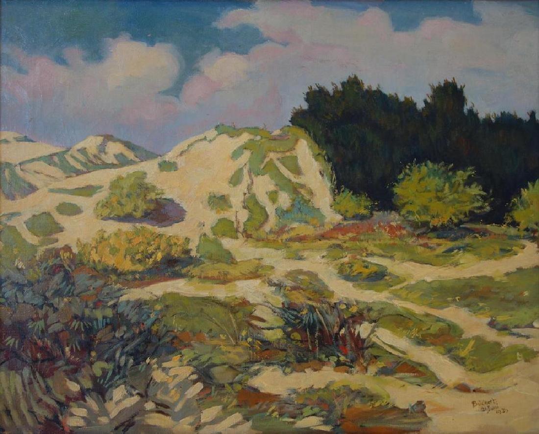 German Impressionist Landscape, Signed Buchert