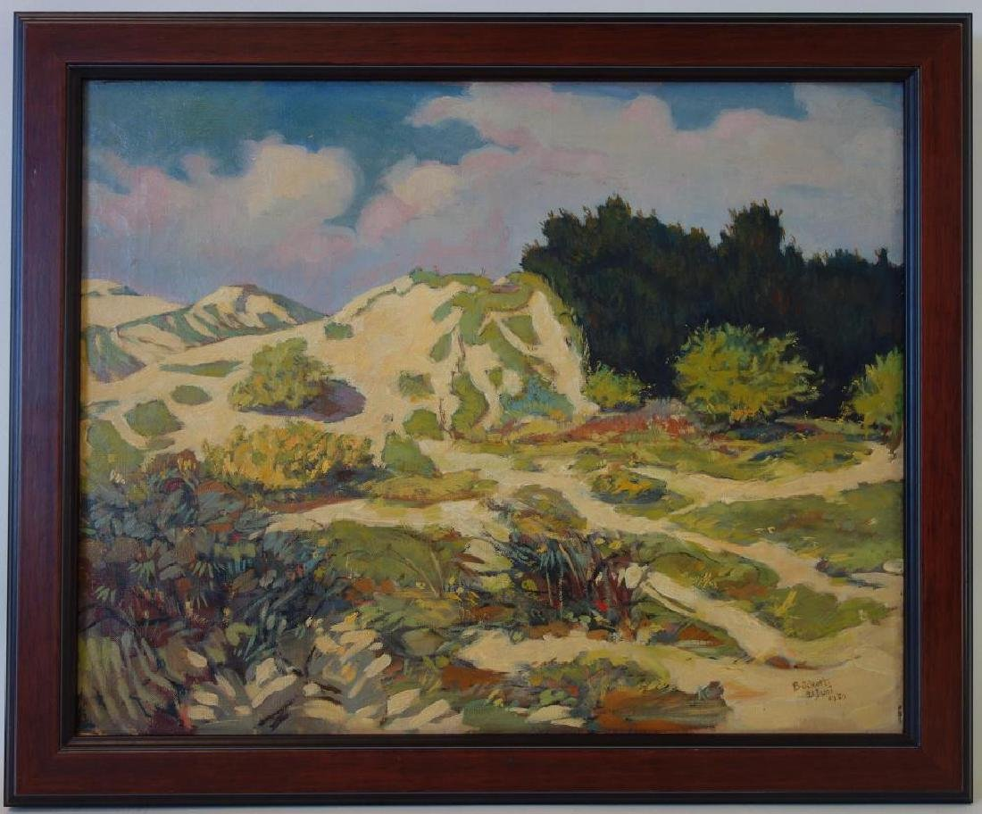 German Impressionist Landscape, Signed Buchert - 2