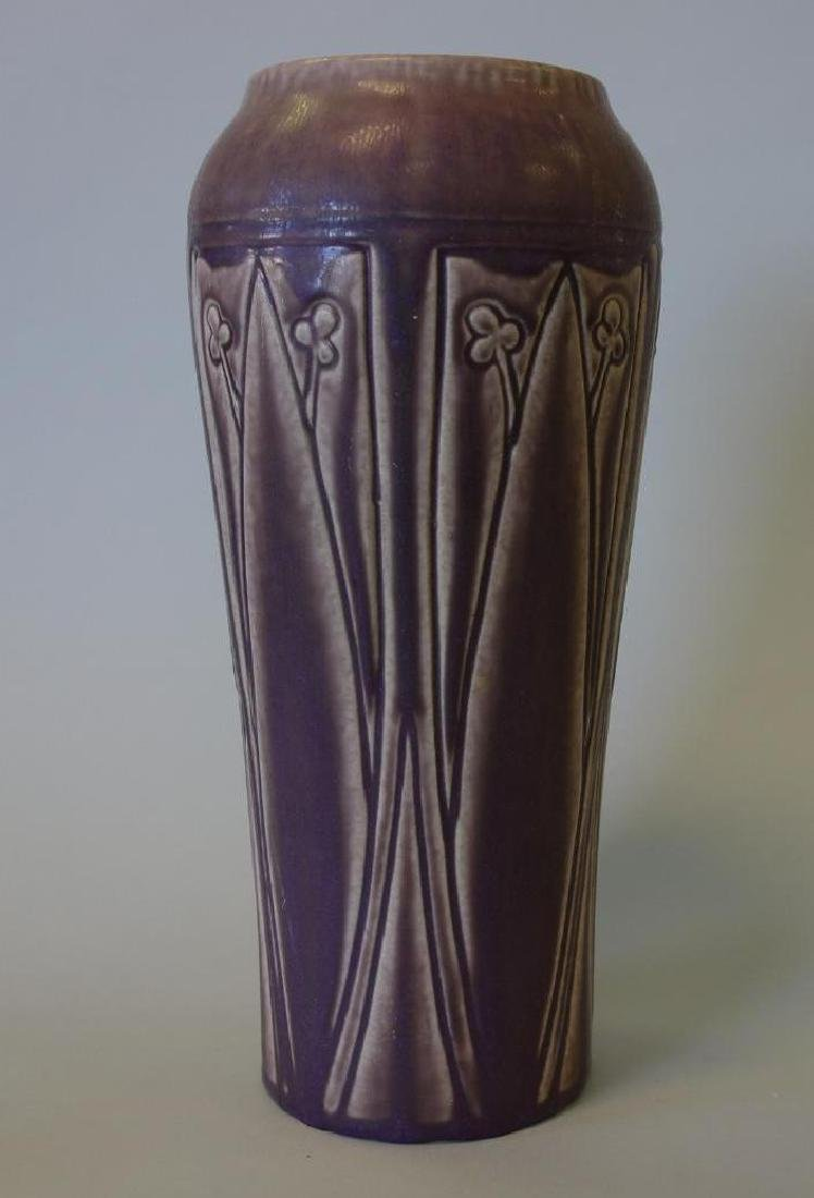 "Rookwood Vase, Stylized Motif, 1924, 11.25"" Tall"