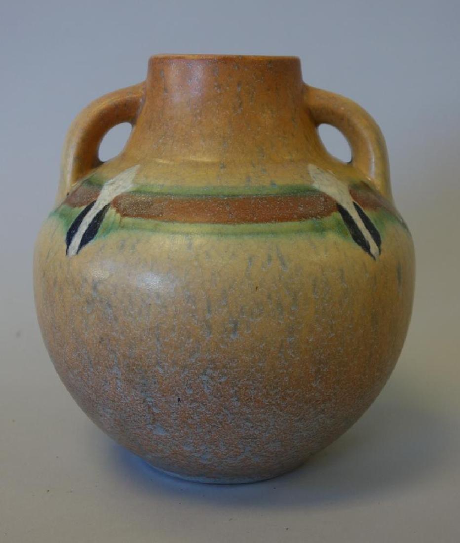 Roseville Montacello Vase, Southwest Motif, Signed