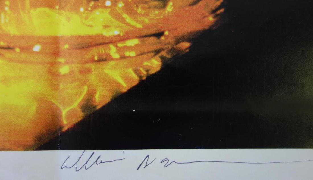 William Morris (b-1957) Uranium Yellow Rope Bowl - 7