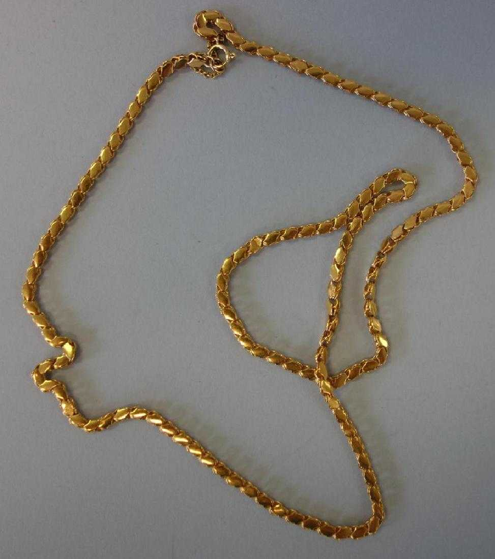 c21862089fec4 18K Yellow Gold Chain Reference t