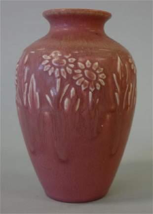 Rookwood Vase, Floral Motif, 1928, Shape 2591