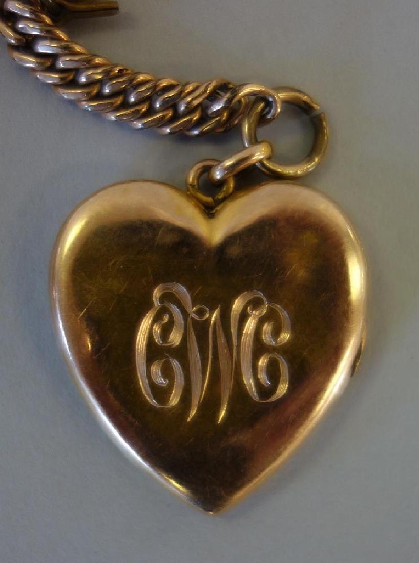 Burlington Gold Filled Pocket Watch, Elk Motif + - 3