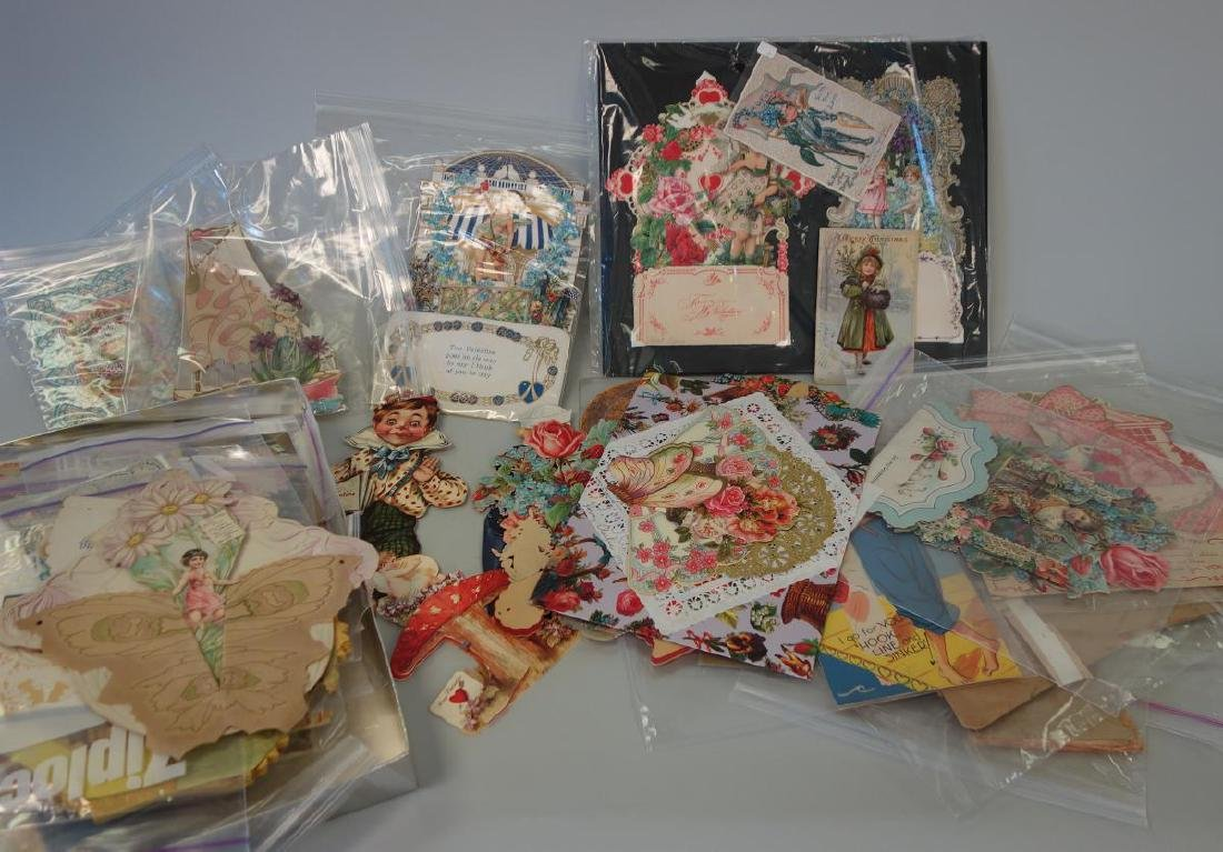 Victorian & Vintage Valentine Card Collection