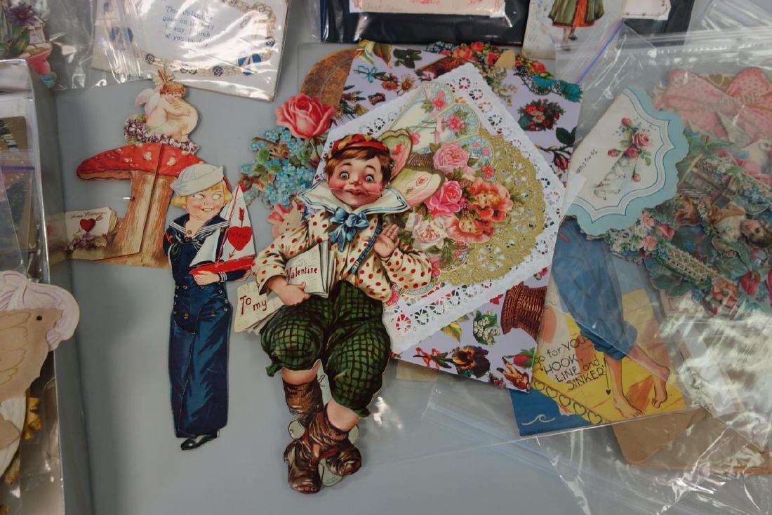 Victorian & Vintage Valentine Card Collection - 2