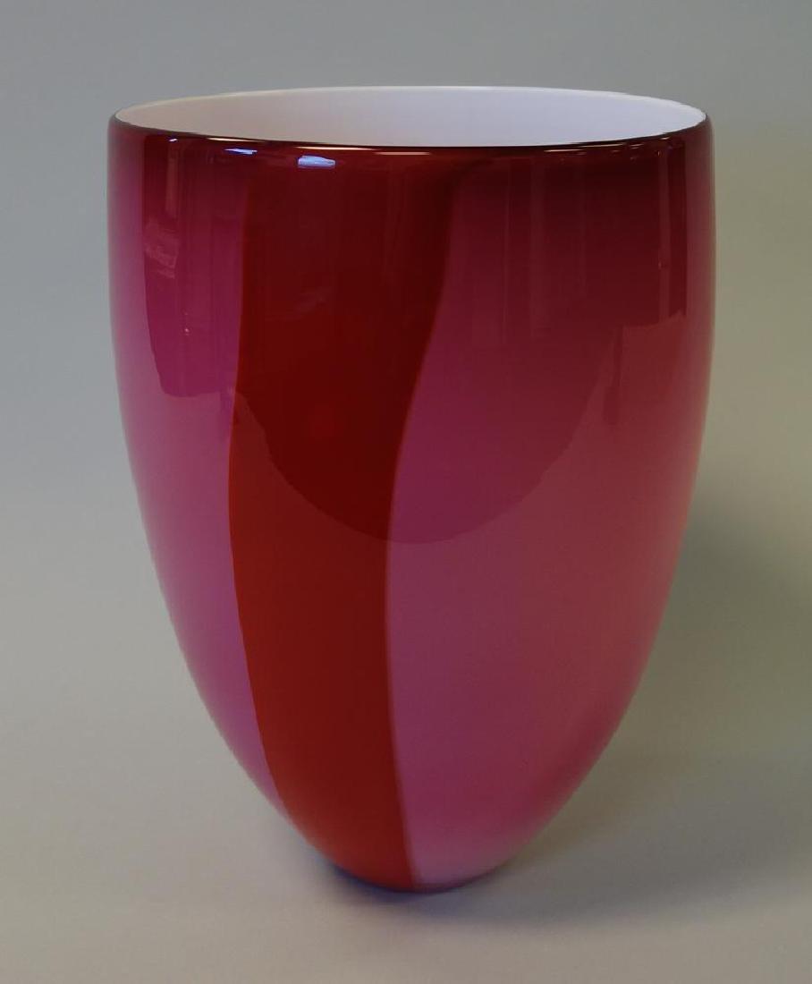 Tacoma Museum of Glass, Studio Glass Vessel, Signd