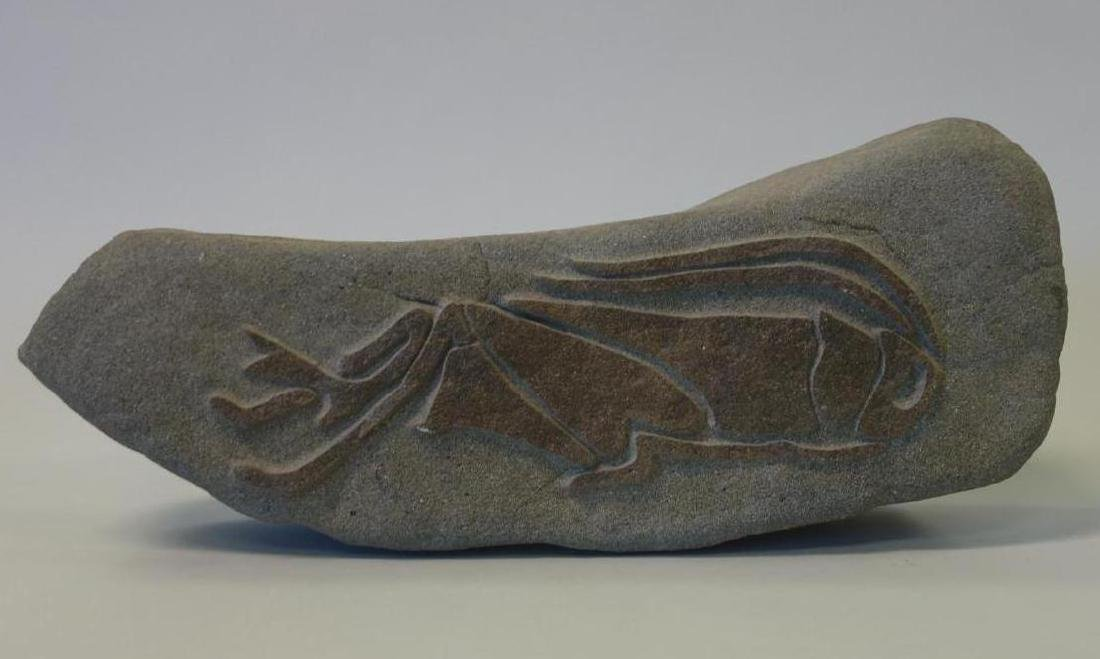 Lurene Richards, Cricket Carved Stone Sculpture