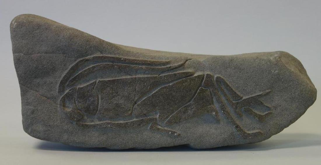 Lurene Richards, Cricket Carved Stone Sculpture - 2