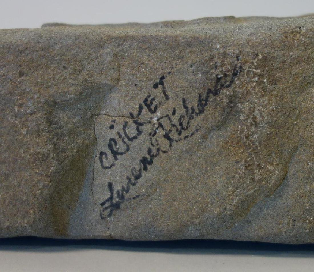 Lurene Richards, Cricket Carved Stone Sculpture - 3