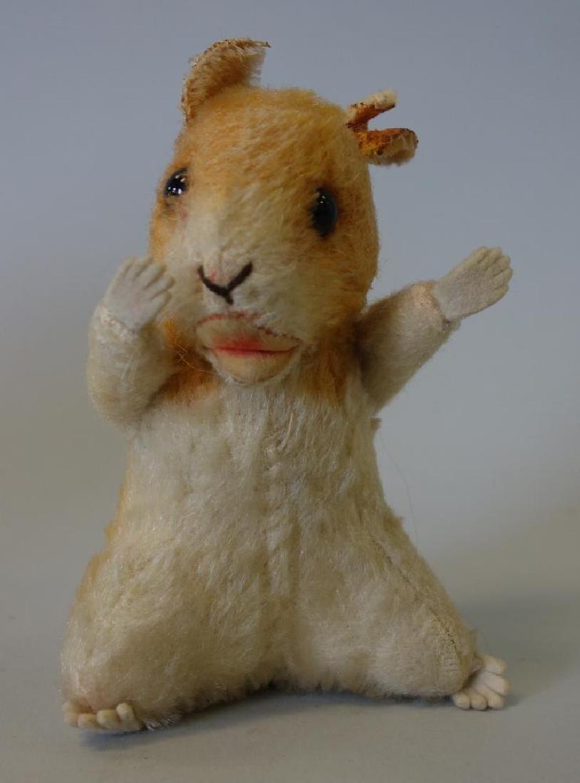 Merry Thought Teddy Bear & Steiff Squirrel - 4