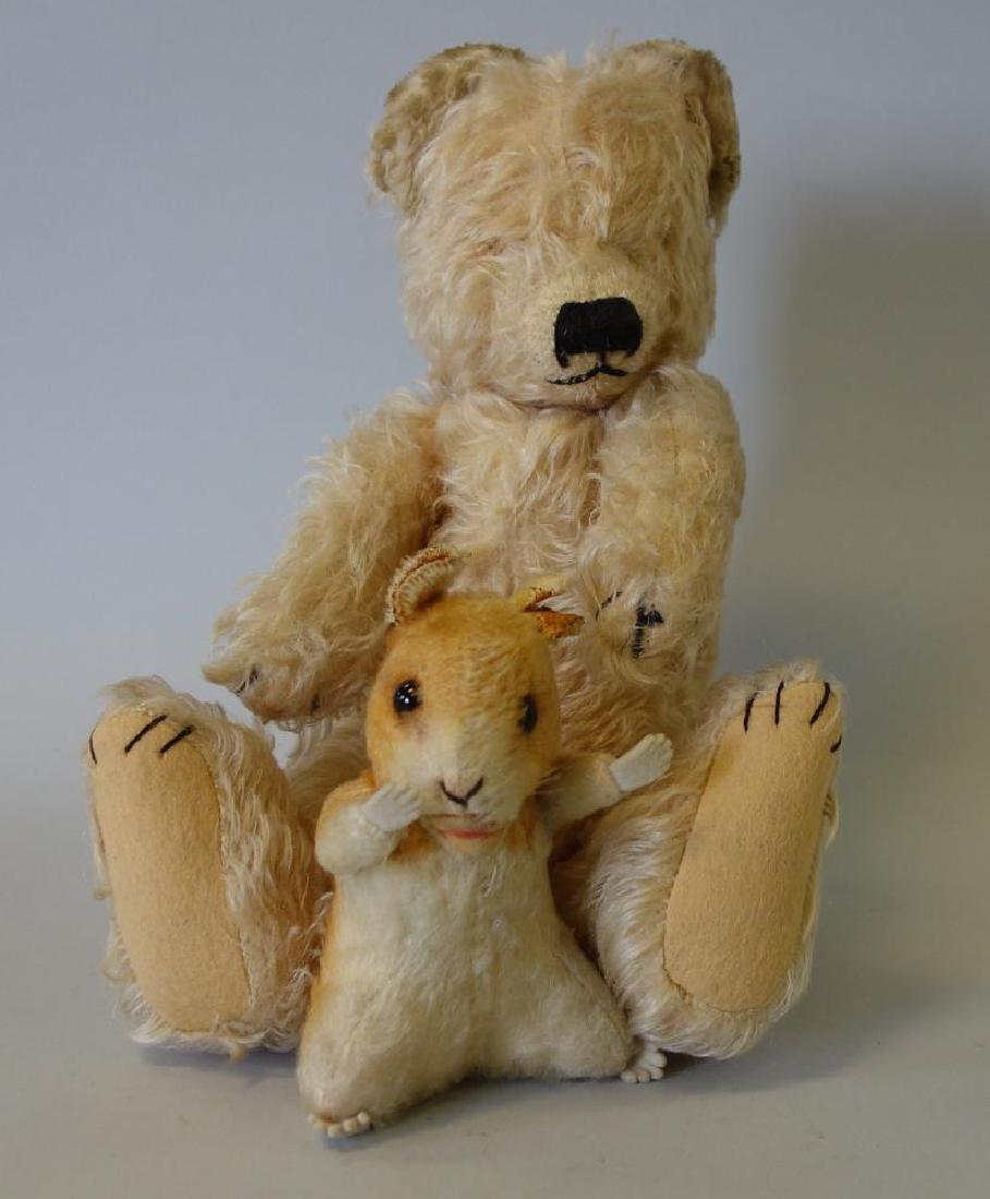 Merry Thought Teddy Bear & Steiff Squirrel - 6
