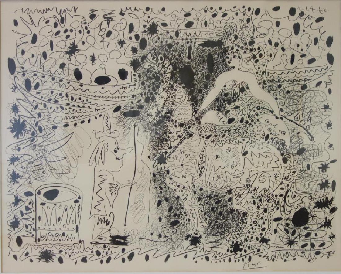 Pablo Picasso, L' Ecuyere, Edition of 1000, 1960