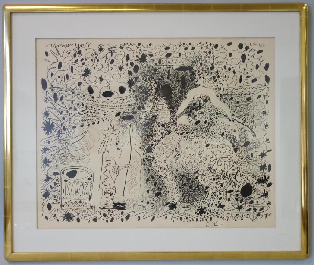 Pablo Picasso, L' Ecuyere, Edition of 1000, 1960 - 2