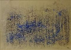 Mark Tobey (1890-1976) Tempera Monotype