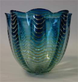 Dale Chihuly (b-1941, WA) Persian Glass Basket