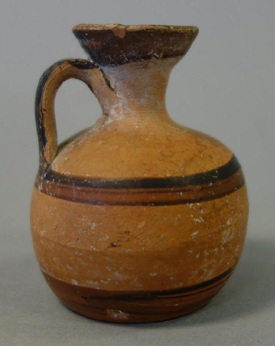 Ancient Greek / Etruscan Pottery Perfume Jug