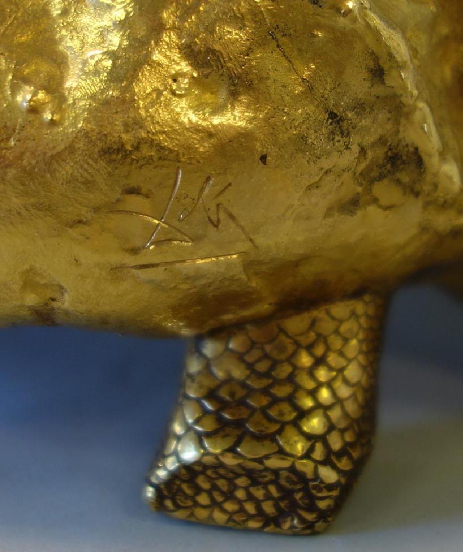Salvador Dali, Le Pain et Le Vin, 18K Gold - 3