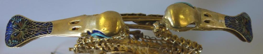 Salvador Dali, Le Pain et Le Vin, 18K Gold - 8